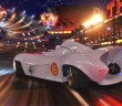"EMILE HIRSCH as Speed Racer driving the Mach 6 in a scene from Warner Bros. Pictures' and Village Roadshow Pictures' action adventure ""Speed Racer,"" distributed by Warner Bros. Pictures.   PHOTOGRAPHS TO BE USED SOLELY FOR ADVERTISING, PROMOTION, PUBLICITY OR REVIEWS OF THIS SPECIFIC MOTION PICTURE AND TO REMAIN THE PROPERTY OF THE STUDIO. NOT FOR SALE OR REDISTRIBUTION."