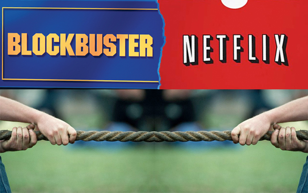 Netflix Vs Blockbuster – The New DVD Viewing Experience